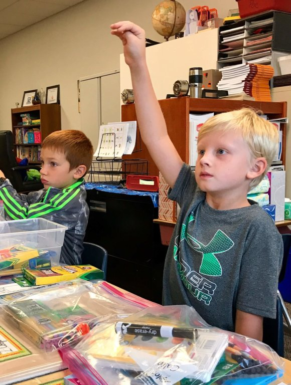 Soaring to New Levels in Second Grade
